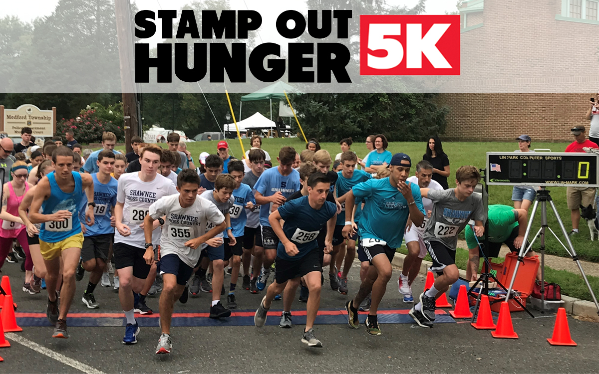 Stamp Out Hunger 5K, 1K, Race, Runner, Fun, Partners in Caring, Request a Donation, Donations, Zallies Fresh Kitchen, ShopRite of Medford, ShopRite of Lawnside, ShopRite of Gibbstown, South Jersey, Zip Code, 08055, 08045, 08027, Local, Community, Sponsor, Event