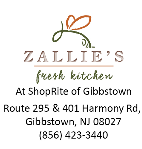 ShopRite of Gibbstown, Zip Code 08027, Donation, ZFK, Zallies Fresh Kitchen, South Jersey, Local, Community